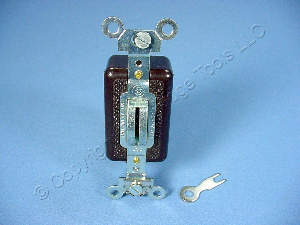Arrow Hart Locking Toggle Wall Light Switch 15a 3 Way