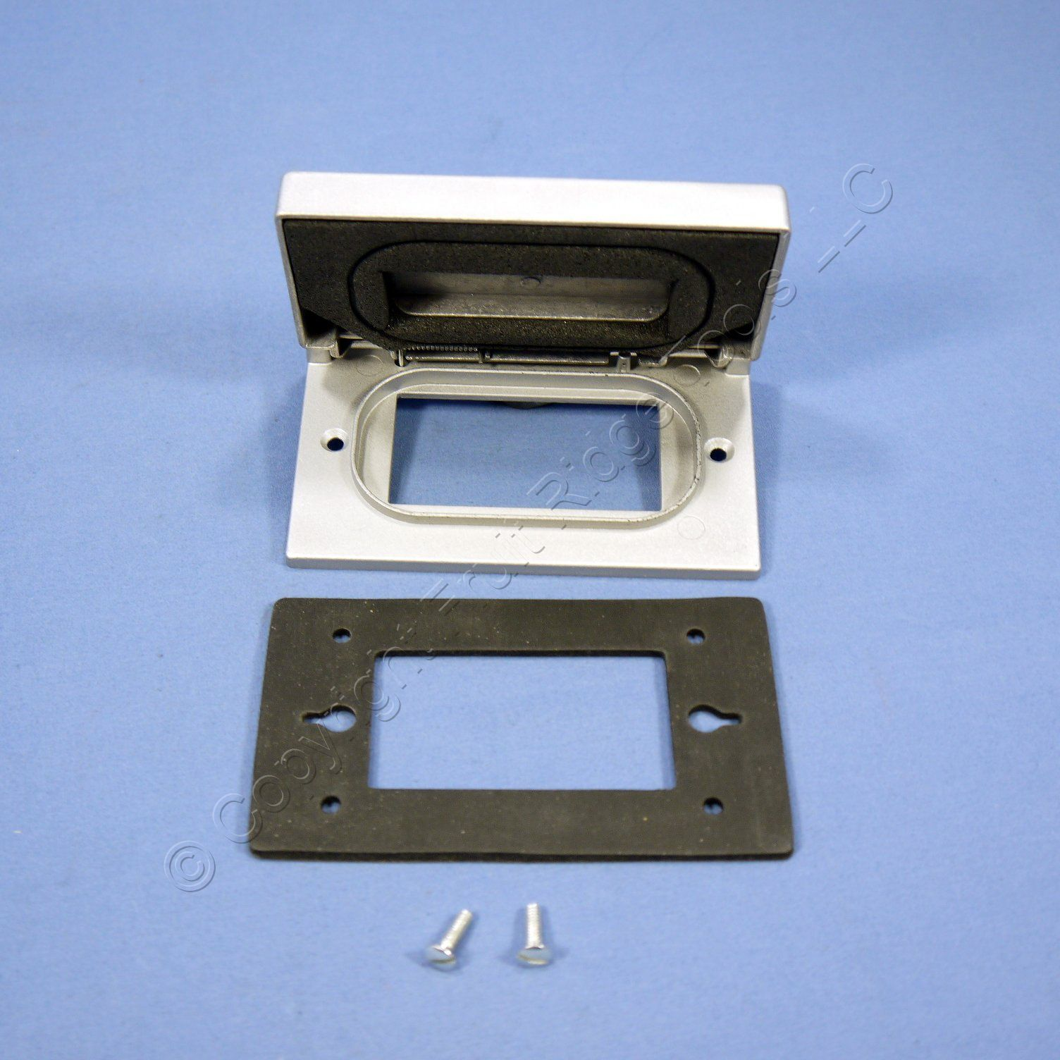 Arrow Hart Gray Gfci Weather Resistant Outdoor Receptacle Outlet Cover Gfi 4501 Ebay