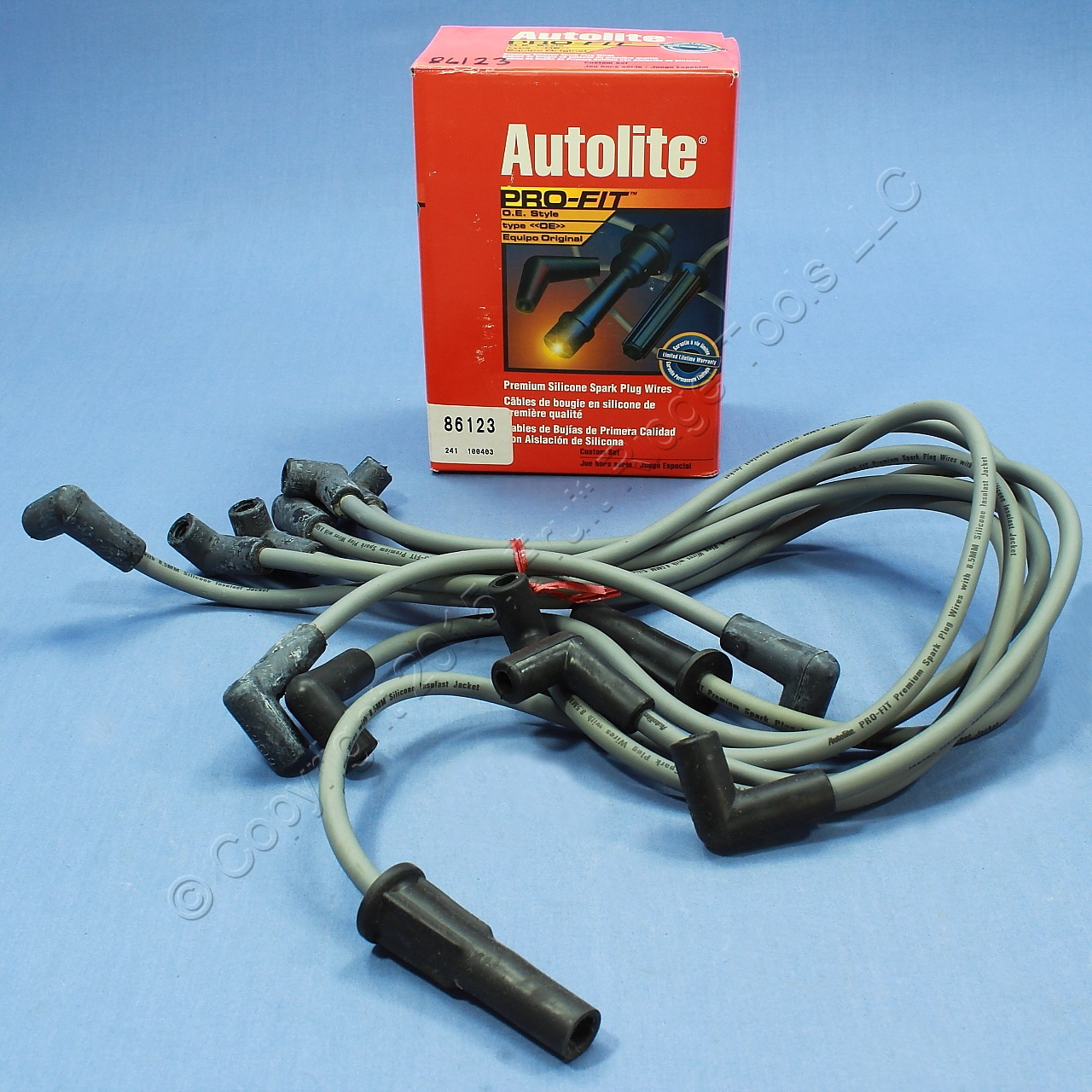 Sell Autolite 86123 Spark Plug Wire Set Astro Chevy Truck Van Sierra ...