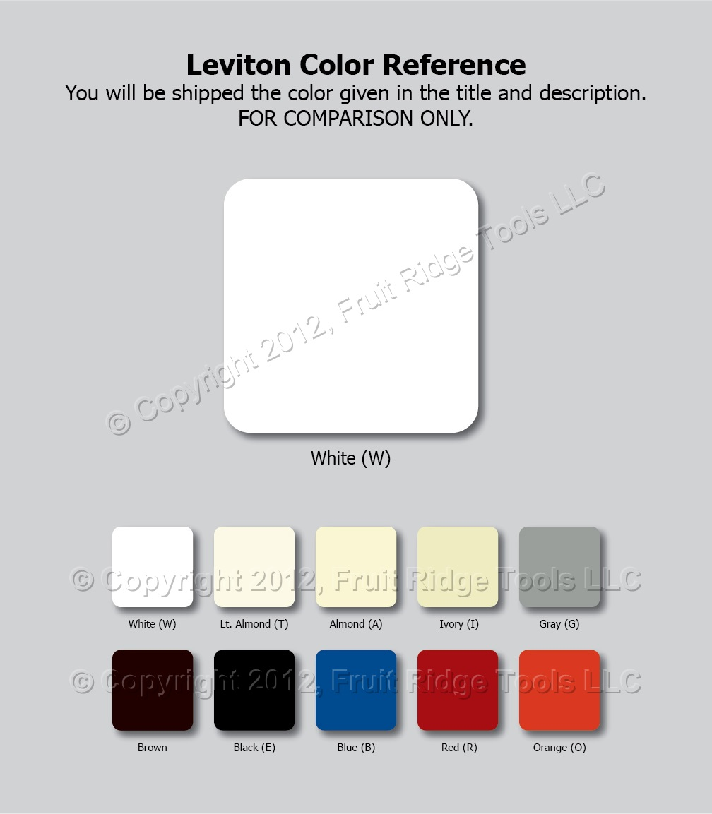 🏠 🔌 Fruit Ridge Tool's Guide to Electrical Device Color   Fruit ...