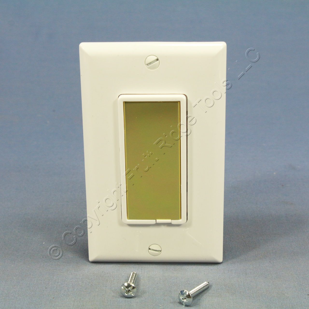Cooper White Decorator Touch Pad Master Dimmer Switch 600w