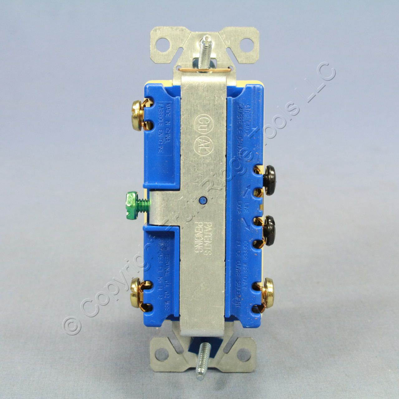 Wire 3 Way Switch Single Pole : Cooper ivory decorator single pole way double rocker