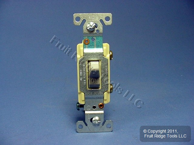10 Eagle Electric Gray COMMERCIAL Toggle Wall Light Switches 15A CS115GY