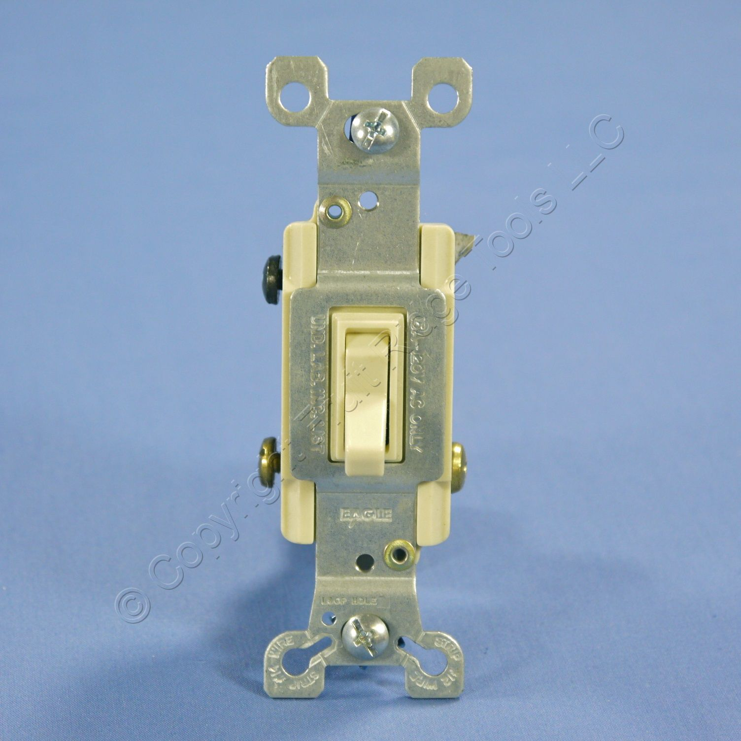 eagle electric ivory toggle wall light switch 3 way quiet Old Light Switch Wiring Light Switch Wiring For Dummies