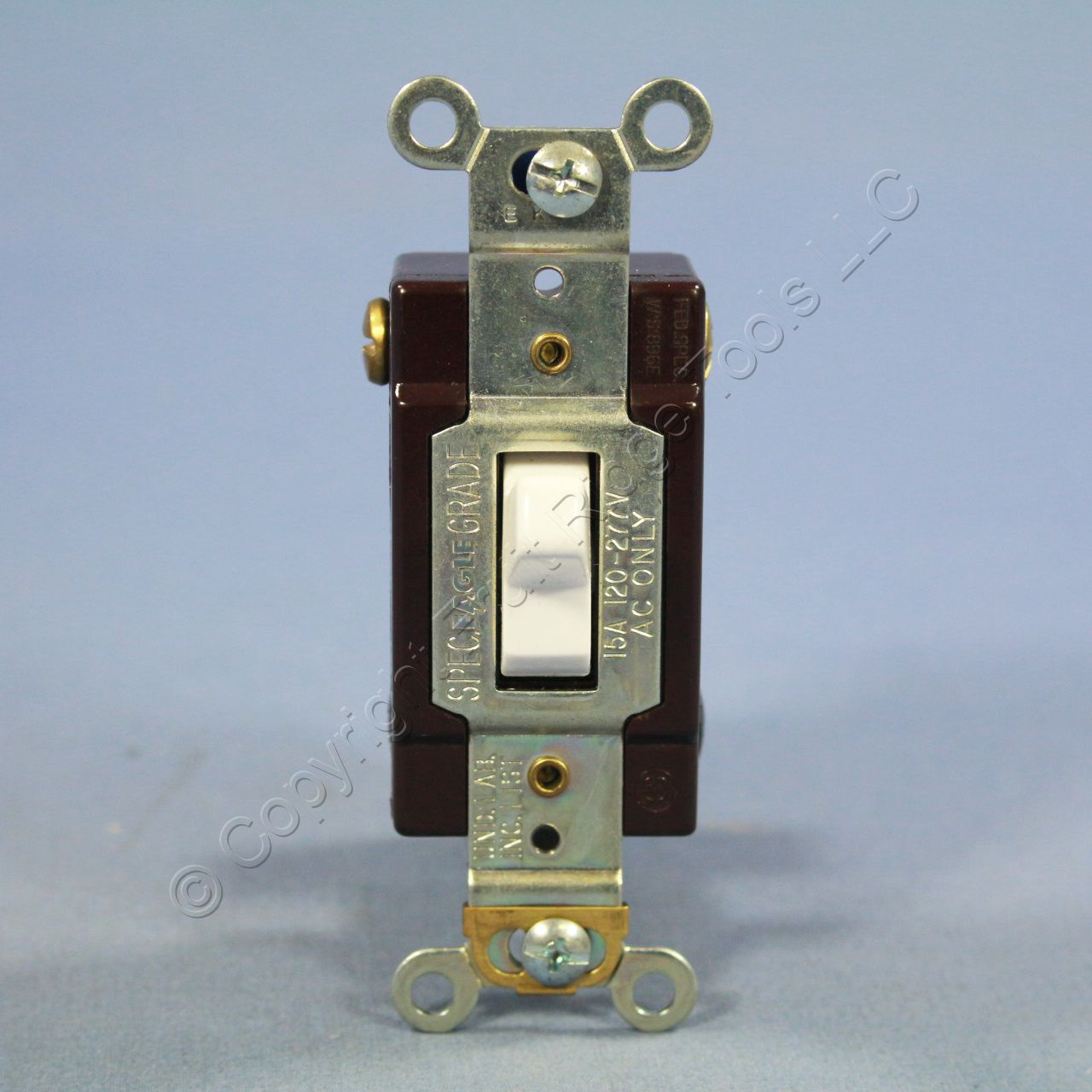 eagle electric white commercial toggle wall light switch 4 Outlet Wiring Wiring a Switched Outlet