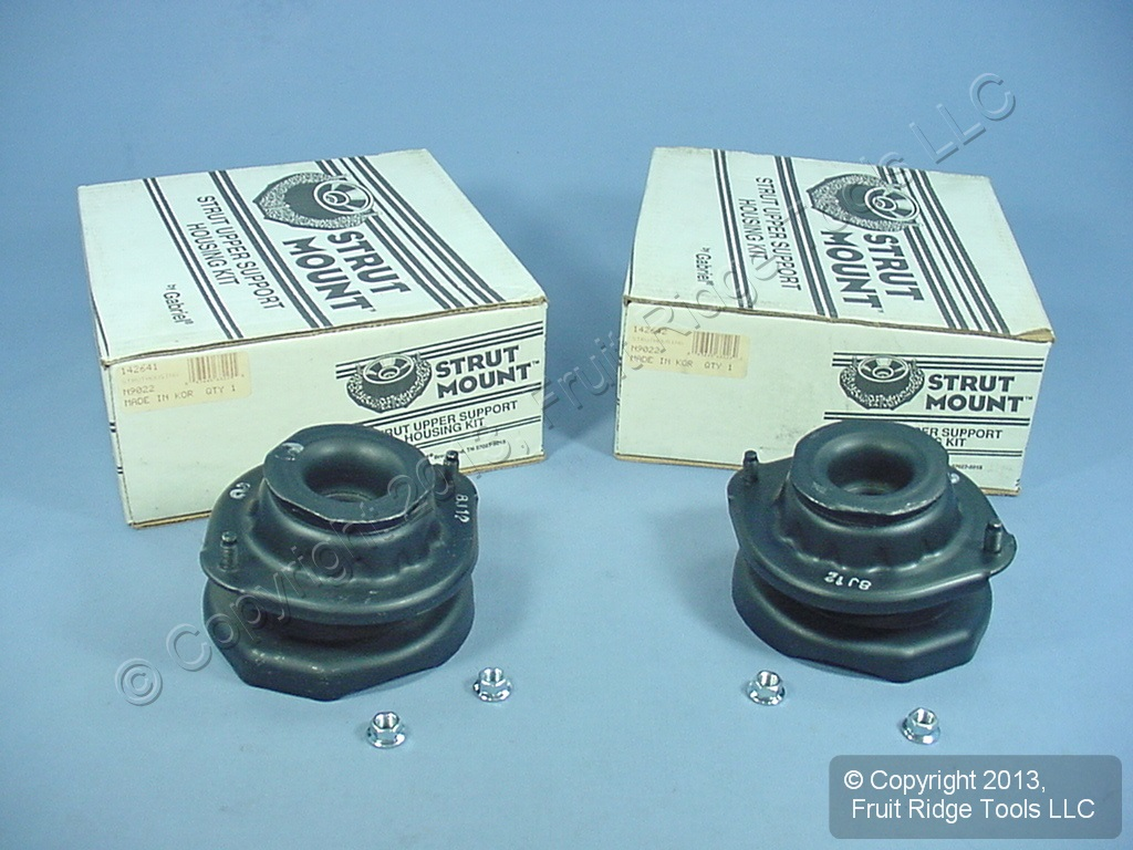 1 PAIR Gabriel Strut Mounts Sephia 142641 142642