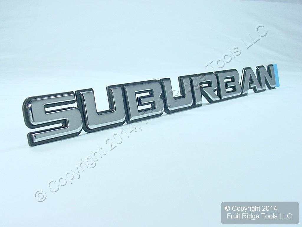 Image Gallery Suburban Emblem