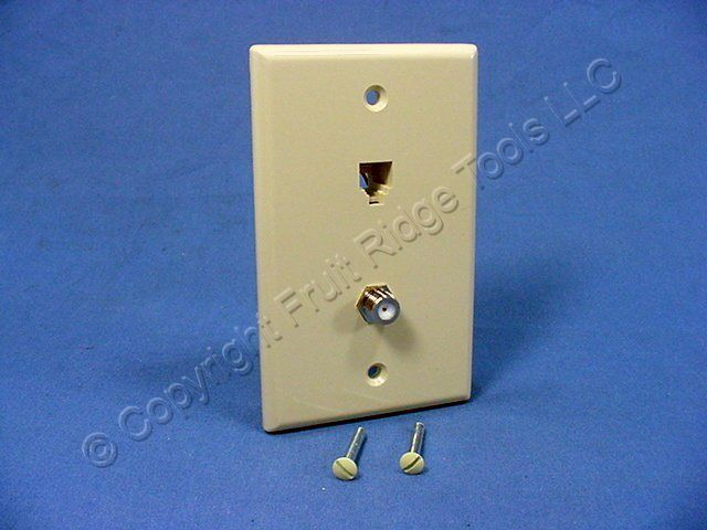 cat wiring diagram for telephone images leviton large white video cable catv phone jack wallplate cat5e 6 wire