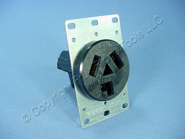 leviton flush power outlet receptacle dryer nema 10 30r