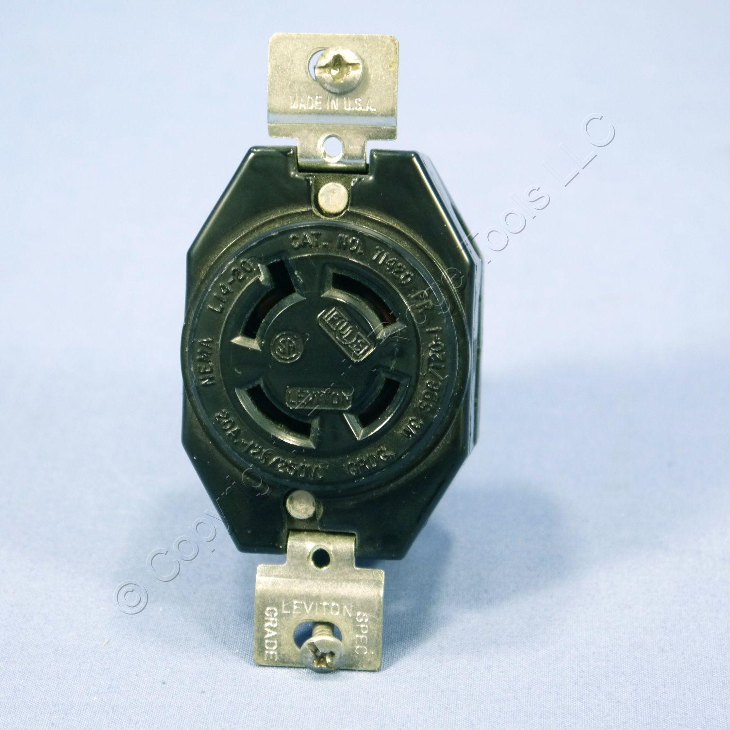 Leviton Turn Locking Receptacle Outlet Nema L14