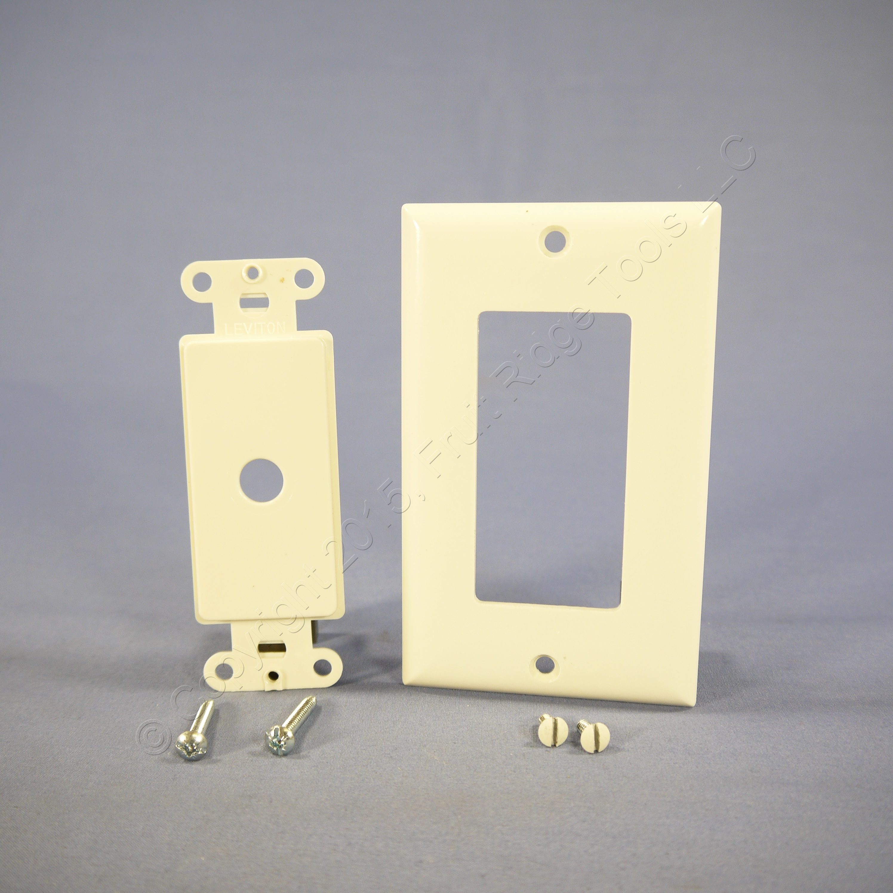 leviton light almond decora rotary dimmer switch cover wall plate 80400 t ebay. Black Bedroom Furniture Sets. Home Design Ideas