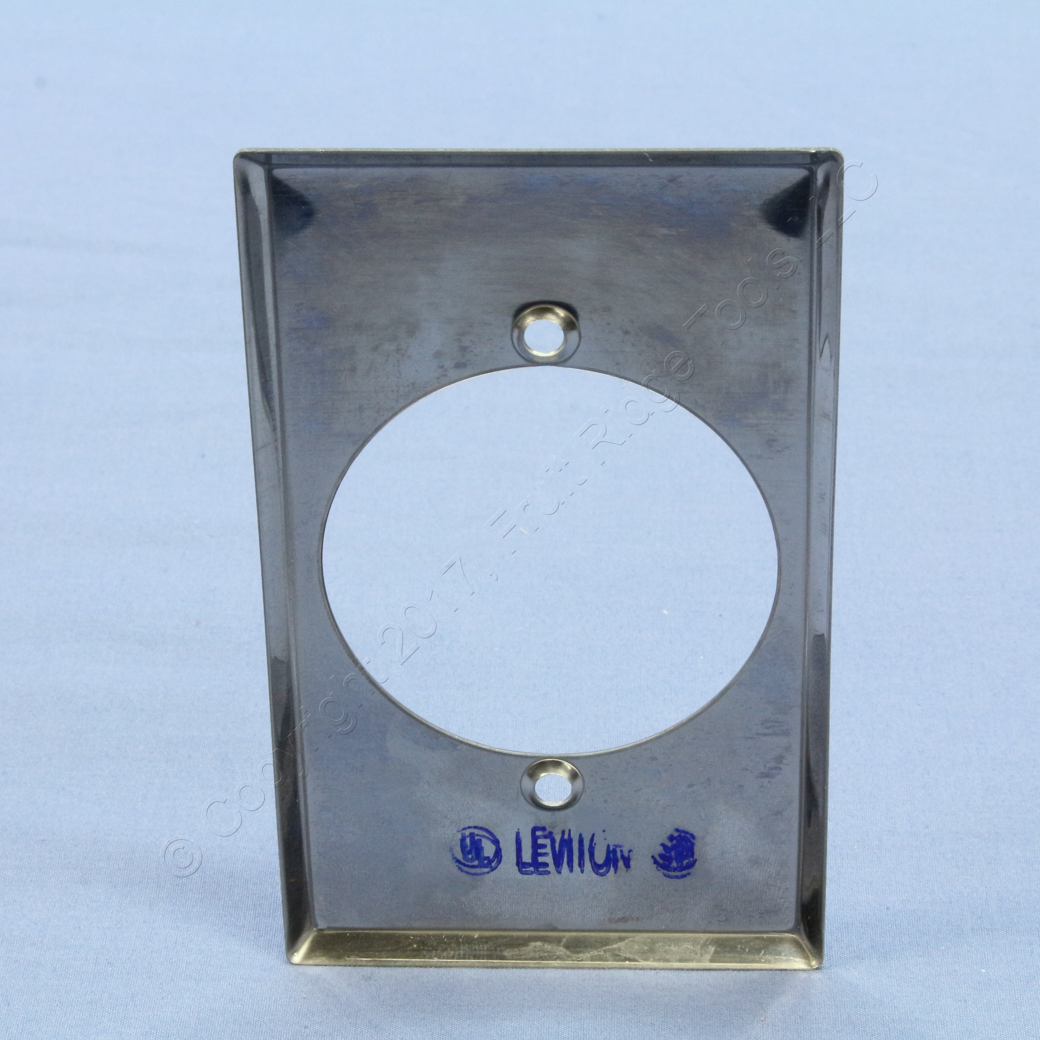 leviton stainless steel outlet covers