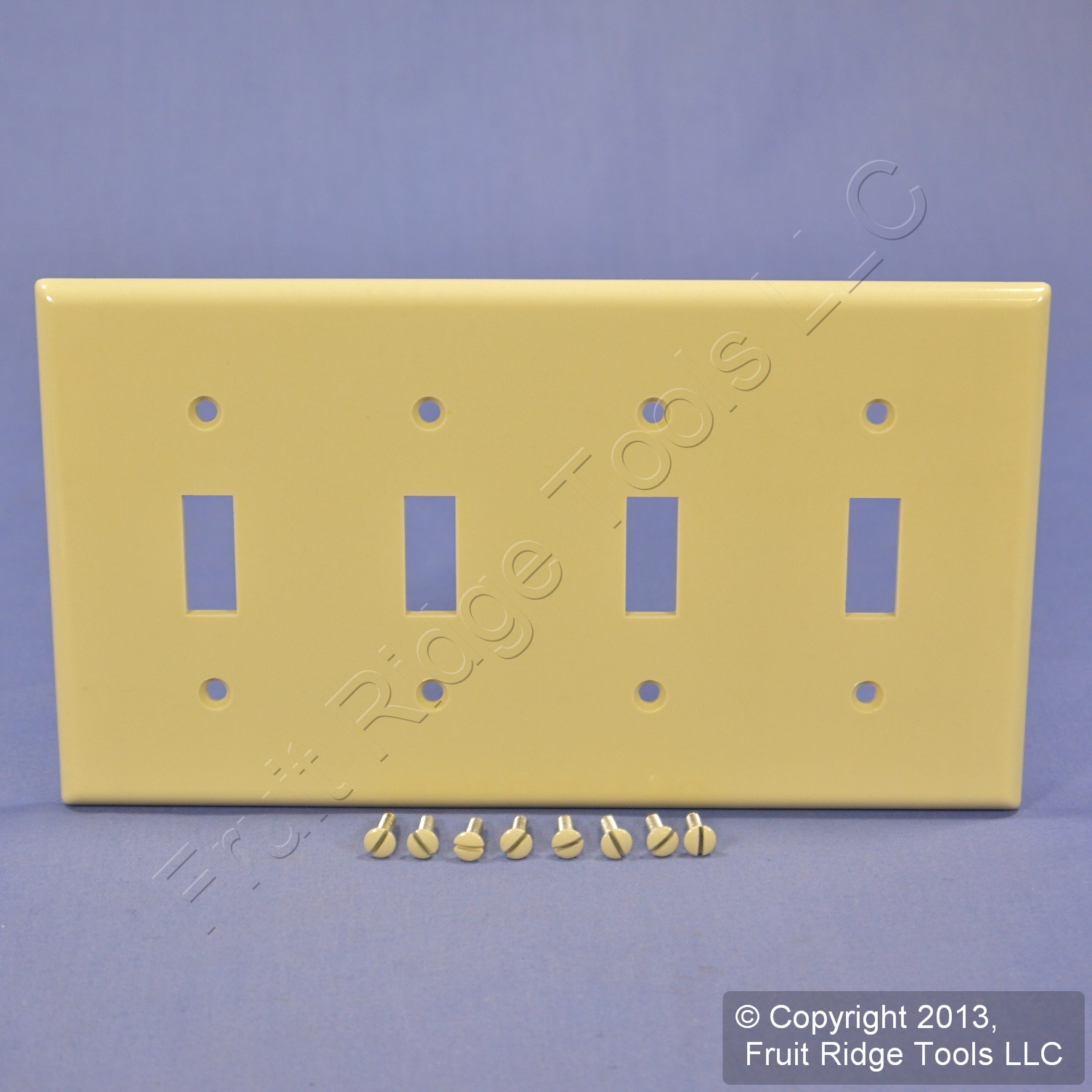 Wall Plate Light Cover : Leviton Ivory 4 Gang Toggle Light Switch Cover Wall Plate Switchplate 86012 eBay