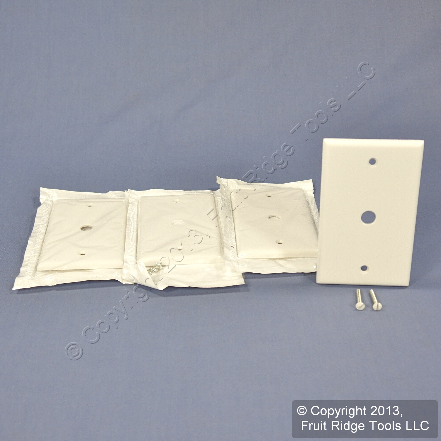 4 leviton white phone cable wallplate telephone cover plates 406 034 hole 88013 ebay. Black Bedroom Furniture Sets. Home Design Ideas
