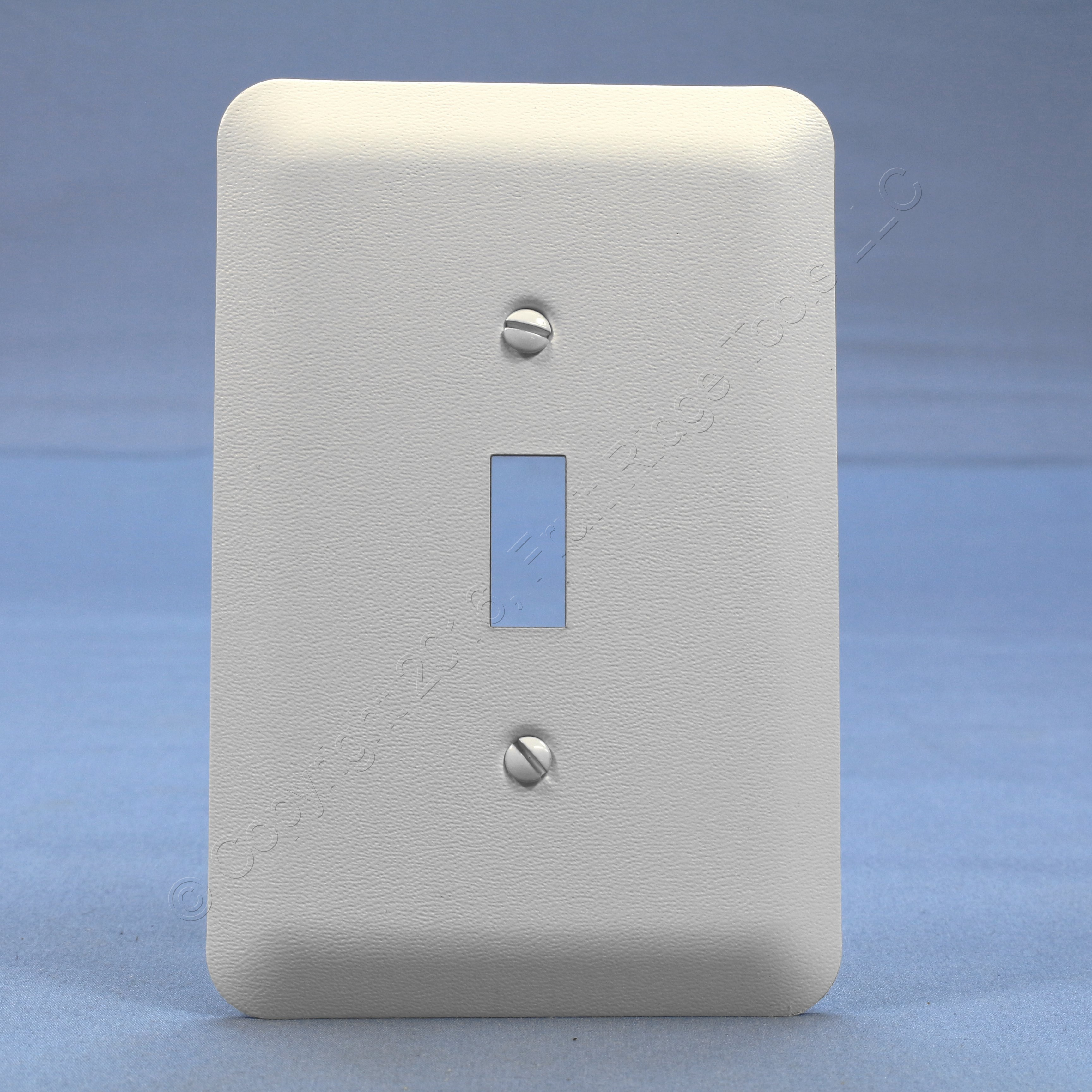 Metal Electrical Outlet Covers Oversized Outlet Covers: Leviton Decorative Metal Themed Painted Patterned Toggle