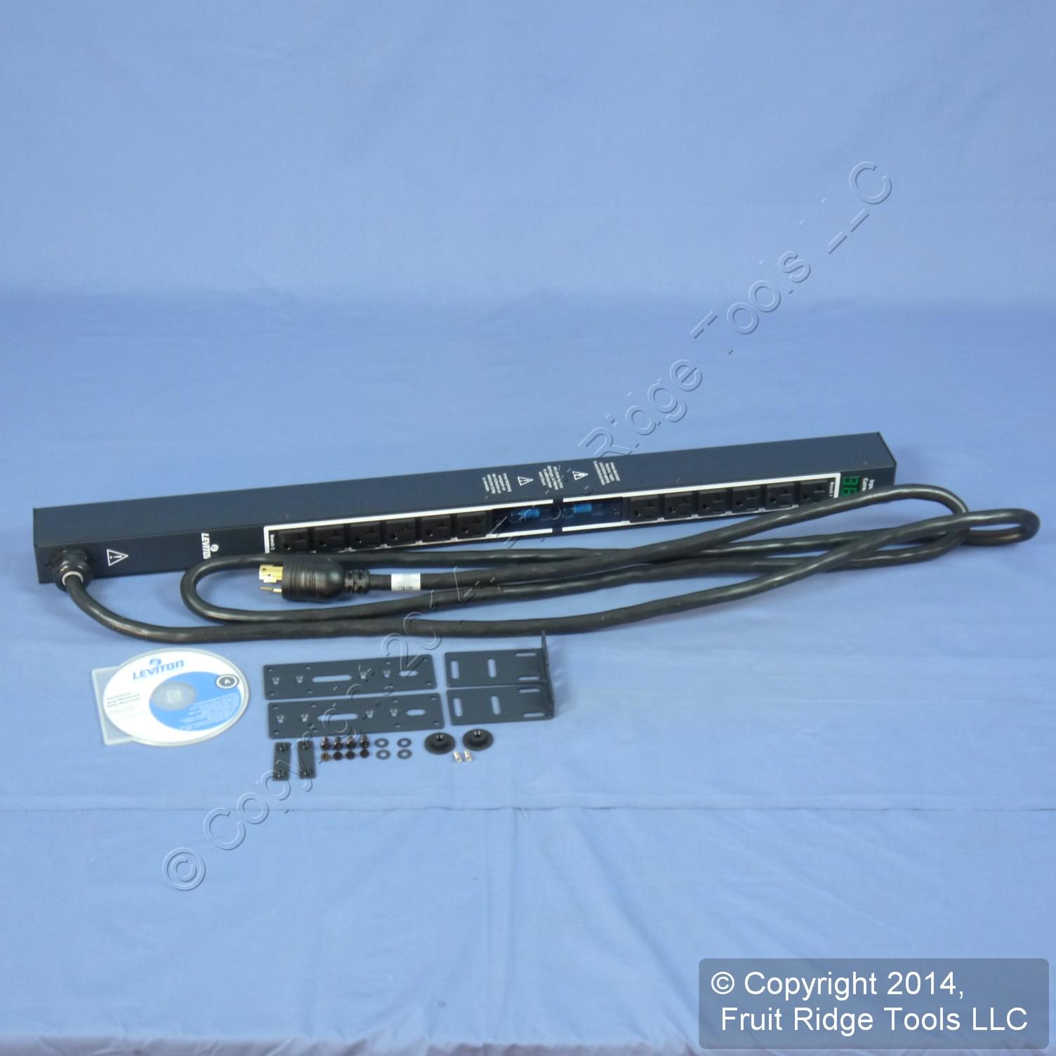Rack pdu power strip 120v c13