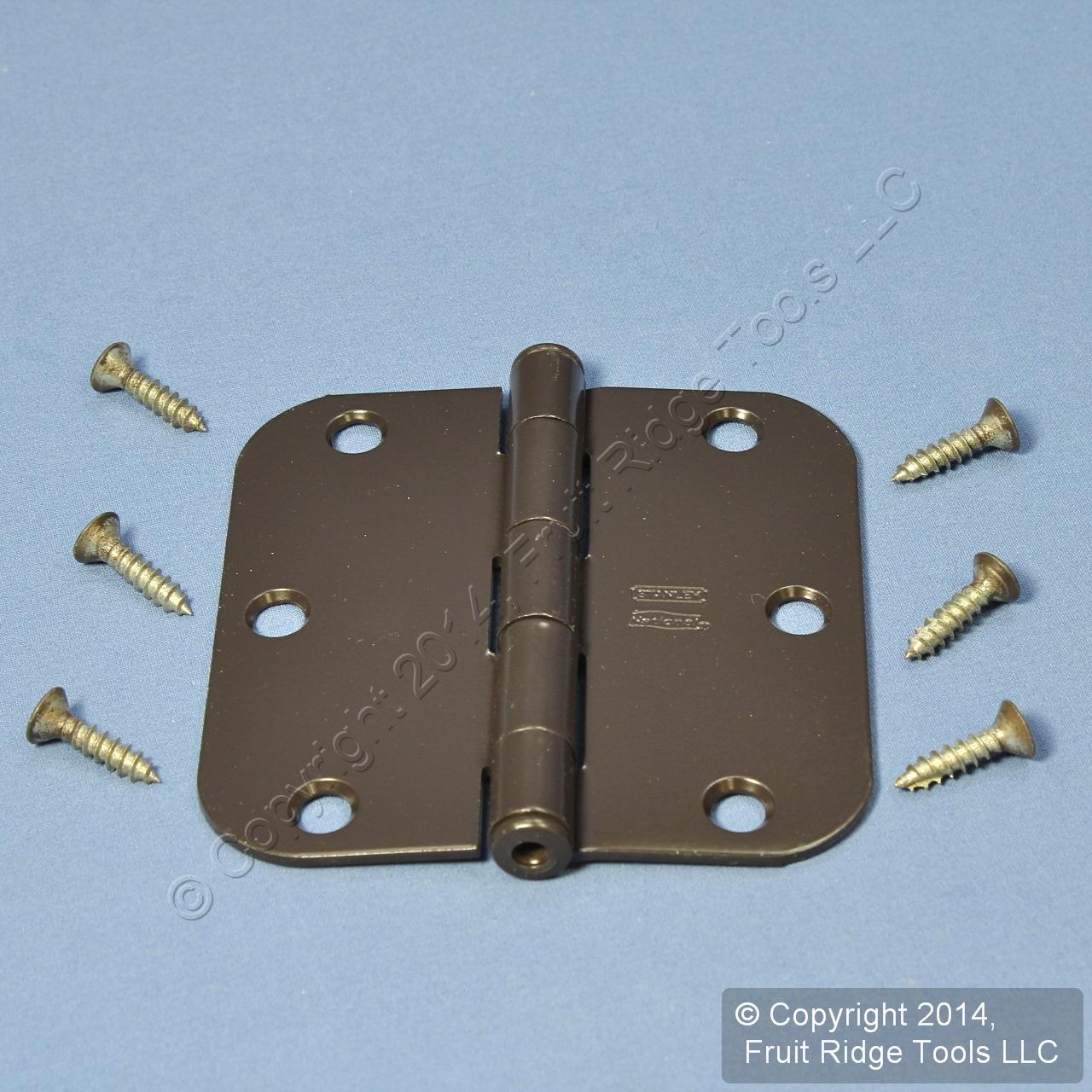 Oil Rubbed Bronze Steel Round Corner 3 5 Interior Door Hinge Hardware N331 587 Ebay