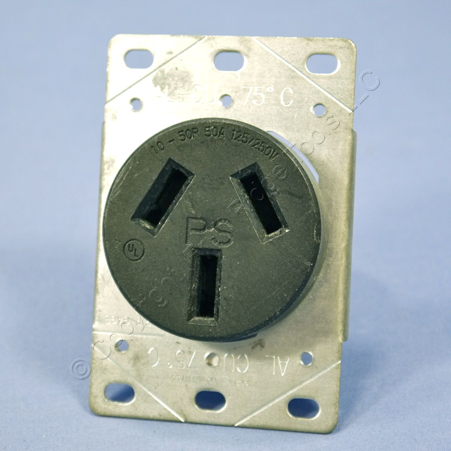 pass seymour stove outlet oven range receptacle 50a 10 50r 125 250v 3890 bulk ebay